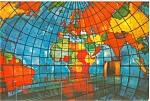 Click here to enlarge image and see more about item lp0007: Boston MA Christian Science Mapparium Postcard #15 lp0007