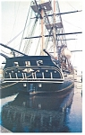 USS Constitution Stern View Postcard lp0032