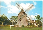 Click here to enlarge image and see more about item lp0043: Oldest Windmill on Cape Cod, MA Postcard