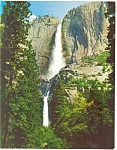 Click here to enlarge image and see more about item lp0050: Yosemite Falls, Yosemite National Park,CA Postcard