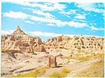Click here to enlarge image and see more about item lp0053: Fabulous Badlands of South Dakota Postcard lp0053