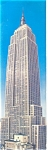 New York City,NY, Empire State Bldg Postcard