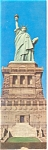 New York City NY Statue of Liberty Postcard lp0093