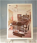 Click here to enlarge image and see more about item lp0104: General Douglas MacArthur s Limousine Postcard lp0104
