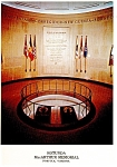 Click here to enlarge image and see more about item lp0105: Norfolk VA Rotunda MacArthur Memorial Postcard lp0105