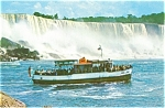 Click here to enlarge image and see more about item lp0109: New Maid of the Mist Steamer Postcard