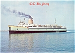 Cape May Ferry  S S New Jersey Postcard lp0110