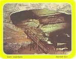 Mammoth Cave KY Booth s Amphitheatre Postcard lp0121