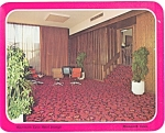 Click here to enlarge image and see more about item lp0122: Mammoth Cave KY Hotel Lounge Postcard lp0122