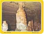 Click here to enlarge image and see more about item lp0123: Mammoth Cave KY Colonnade Postcard lp0123