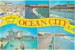 Ocean City, NJ Five Views  Postcard