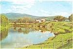 Wells River, VT Farm Scene Postcard