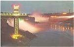 Schoellkopf Tower, Niagara Falls Postcard