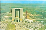 Click here to enlarge image and see more about item lp0157: JFK Space Center,VAB Postcard lp0157