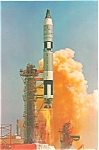 Click here to enlarge image and see more about item lp0158: NASA Gemini Titan Launch Postcard