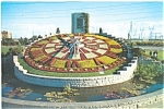 Click here to enlarge image and see more about item lp0164: Ontario Hydro's Floral Clock Postcard