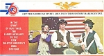 Click here to enlarge image and see more about item lp0179: VFW Bicentennial Souvenir Folder Postcards 22 Views