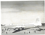 Click here to enlarge image and see more about item lp0203: Convair Transport Model 37  Print