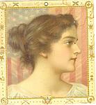 Click to view larger image of Hoods Sarsaparilla American Girl Advertisement lp0219 1899 (Image1)