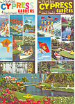 Click here to enlarge image and see more about item lp0227: Floridas Cypress Gardens Postcard and Brochures