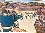Click here to enlarge image and see more about item lp0234: Hoover (Boulder) Dam from Nevada Side Postcard