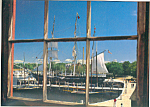 Charles W Morgan at Mystic Seaport CT Postcard lp0260