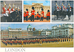 Click here to enlarge image and see more about item lp0267: London England Multi View Postcard lp0267