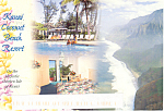 Kauai Coconut Beach Resort  Hawaii Postcard lp0271