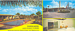Tower Motel Lake Placid Florida Postcard lp0276