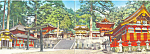 Yomei mon Gate Toshogu Shrine Nikko Japan  Postcard lp0281