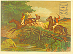 Click here to enlarge image and see more about item lp0293: Miles Baking Powder Victorian Trade Card lp0293