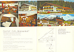 Click here to enlarge image and see more about item lp0295: Gasthof Cafe Sonnenhof Garmisch Partenkirchen Brochure lp0295
