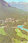 Click here to enlarge image and see more about item lp0301: Banff Springs Hotel Banff  Alberta Canada Postcard lp0301