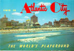 Click here to enlarge image and see more about item lp0380: This is Atlantic City, The World s Playground Souvenir Folder lp0380