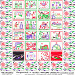 Click here to enlarge image and see more about item lp0450: Wheat Ridge Foundation Christmas Seals 1982 lp0450