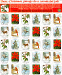 Click here to enlarge image and see more about item lp0451: National Wildlife Federation Christmas Seals 1982