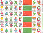 Click here to enlarge image and see more about item lp0468: American Lung Association Christmas Seals 1984