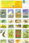 Click here to enlarge image and see more about item lp0473: National Wildlife Federation Christmas Seals 1987