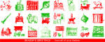 Click here to enlarge image and see more about item lp0474: Yankee MagazineChristmas Seals lp0474