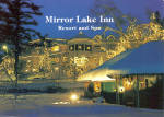 Mirror Lake Inn Resort and Spa Christmas Lights lp0506