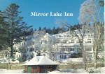 Mirror Lake Inn Resort and Spa NY  in snow lp0507