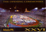 Click here to enlarge image and see more about item lp0509: Opening Ceremonies Atlanta 1996 Olympics