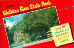 Click here to enlarge image and see more about item lp0545: Souvenir Booklet of Watkins Glenn State Park NY lp0545