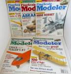 Click here to enlarge image and see more about item M0002: Fine Scale Modeler Magazine Lot of 5 M002