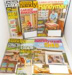Click here to enlarge image and see more about item M0004: The family Handyman Magazine Lot of 5 M0004