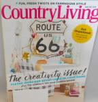 Click here to enlarge image and see more about item M0006: Country Living Magazine Jan Feb 2018