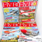 Click here to enlarge image and see more about item M0008: FLY RC Magazine Lot of 4  All Dated in 2013 M0008