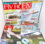 Click here to enlarge image and see more about item M0009: FLY RC Magazine Lot of 4 M0009