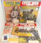 Click here to enlarge image and see more about item M0011: Civil War Timres Vintage Magazine Lot of 4 M0011