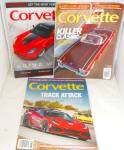 Click here to enlarge image and see more about item M0012: Corvette  Magazine Lot of 3 M0012